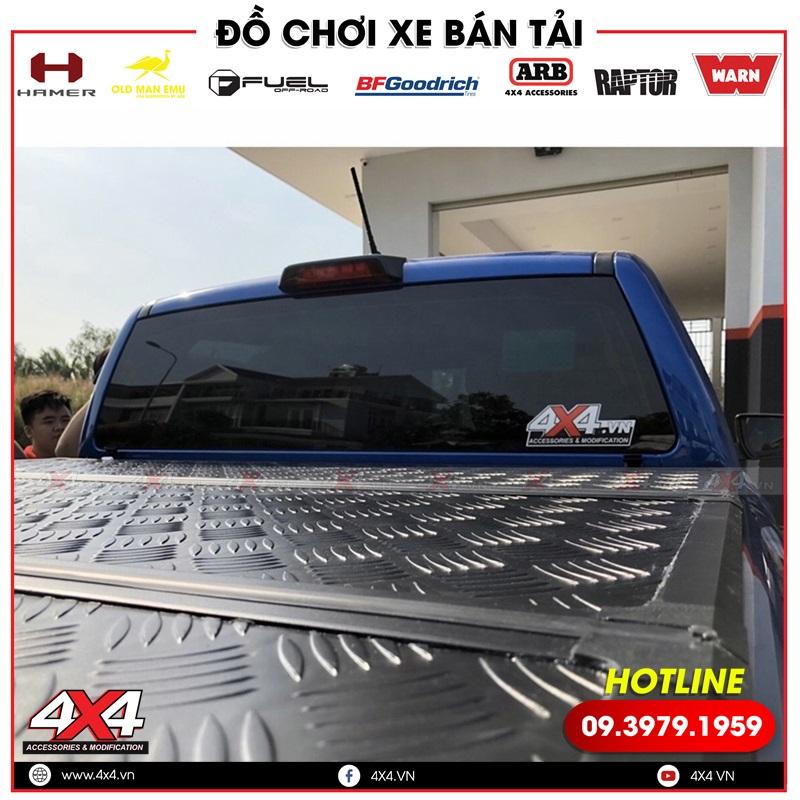 Nắp thùng bán tải Full nhôm rất đẹp, cứng cáp và chất độ cho xe bán tải Ford Ranger Raptor