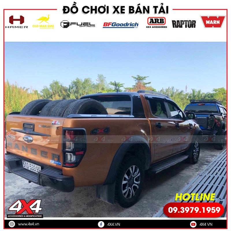 Chiếc bán tải Ford Ranger độ lốp Falken đẹp, bền và chất lượng tịa 4x4