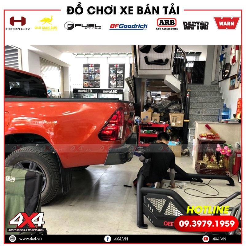 Thanh thể thao Offroad đẹp và chất dành độ cho xe bán tải Toyota Hilux