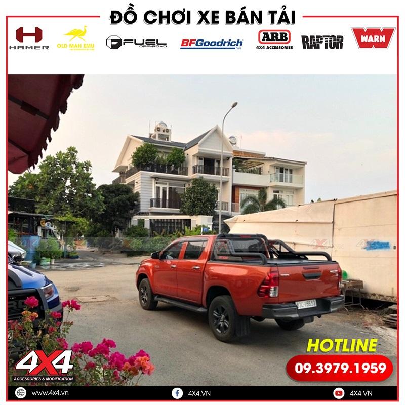 Chiếc bán tải Toyota Hilux độ thanh thể thao Offroad đẹp và chất