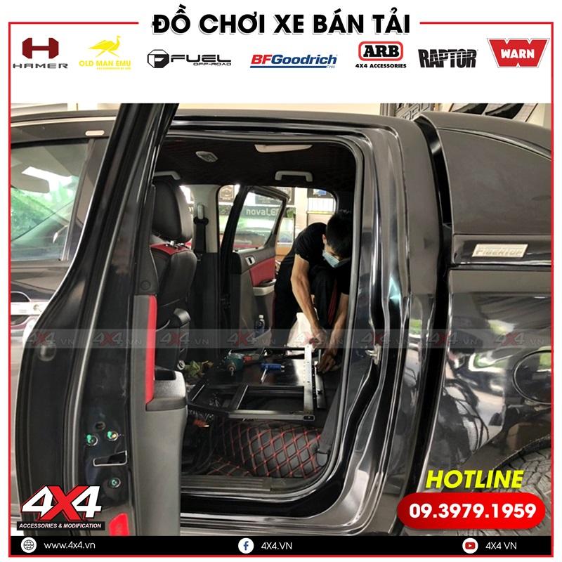 Xe bán tải Mazda BT-50 độ ghế chỉnh điện tiện nghi và hiện đại tại HCM