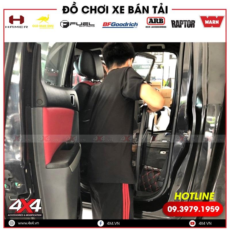 Xe bán tải Mazda BT-50 độ sang trọng, hiện đại với ghế độ chỉnh điện
