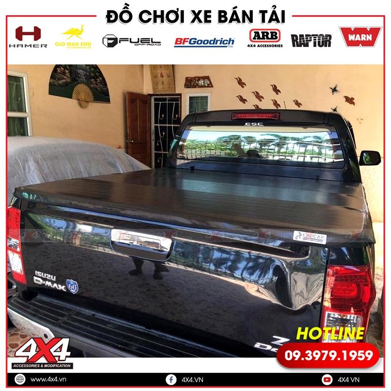 Nắp thùng cuộn bạt mềm độ tiện lợi cho xe bán tải Isuzu D-max