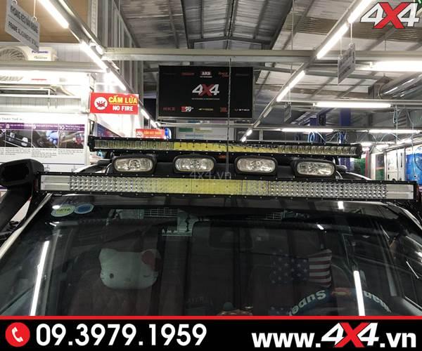 Độ đèn led bar trợ sáng dành cho xe Raptor Raptor giá bao nhiêu?