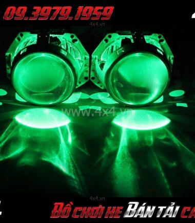 Tấm ảnh: Đèn mắt quỷ đổi màu bằng app điện thoại dành cho xe ô tô, xe bán tải