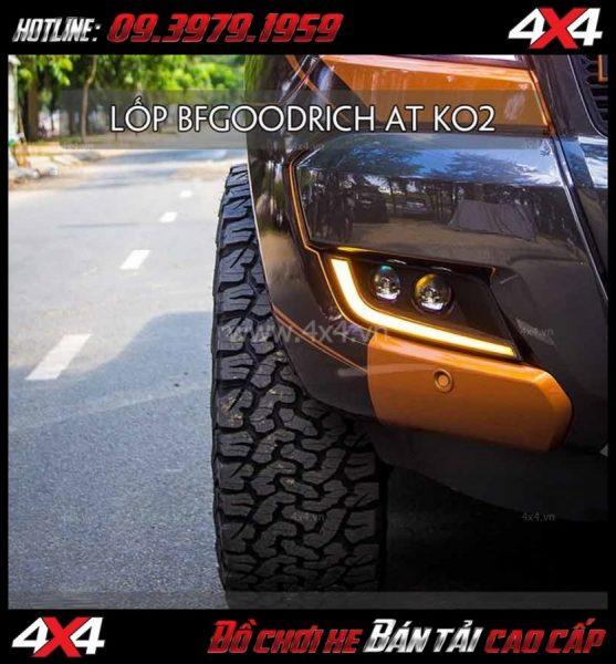Tư vấn gắn lốp chính hãng BFGoodrich dành cho xe Ford Ranger cực đẹp