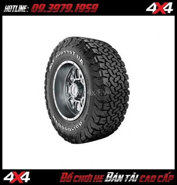 Tư vấn độ lốp của hãng BFGoodrich lên cho xe Ford Ranger cực ngầu