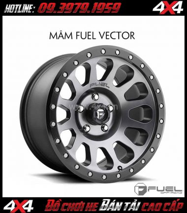 Hình ảnh: Bán mâm 18 Inch: Mâm Fuel Vector D601 2018 cho ô tô xe pickup