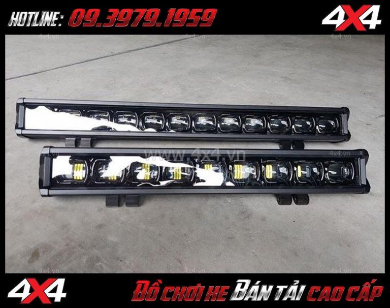 Ngắm Đèn led bar trợ sáng phù hợp nhất dành cho Bán tải