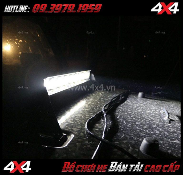 Độ đèn led bar trợ sáng dành cho Bán tải giá bao nhiêu?