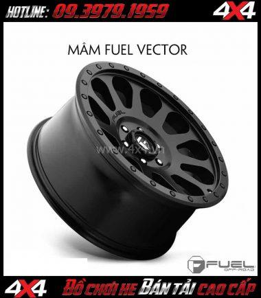 Bức ảnh Mâm xe hơi cứng cáp: Mâm Fuel One Piece Vector D579 dành cho xe off-road và SUV
