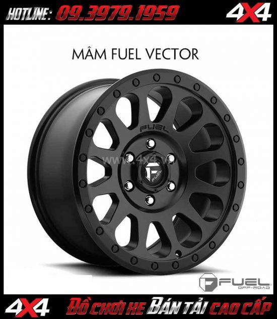 Picture Mâm xe hơi cứng cáp: Mâm Fuel One Piece Vector D579 dành cho xe off-road và SUV