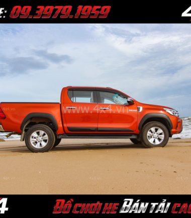 Image Ốp cua lốp cho xe bán tải Toyota Hilux chất lượng giá rẻ tại Tp.HCM