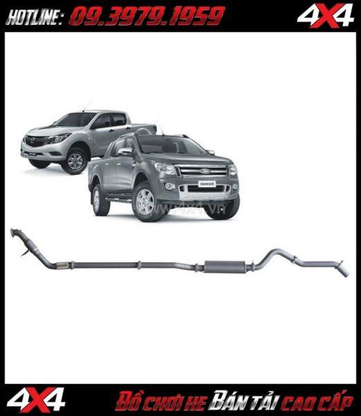 Thay pô độ cho xe Ford Ranger 2020 cực ngầu tại 4x4