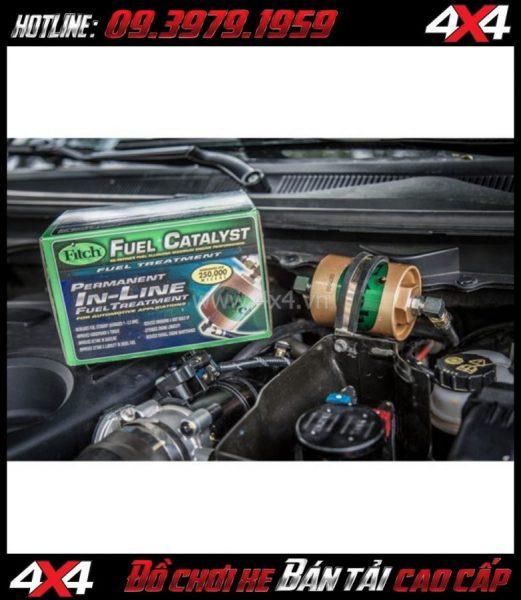 Ưu Điểm khi Lắp Đặt Thiết Bị  Xúc Tác Fitch cho xe Ford Ranger 2020