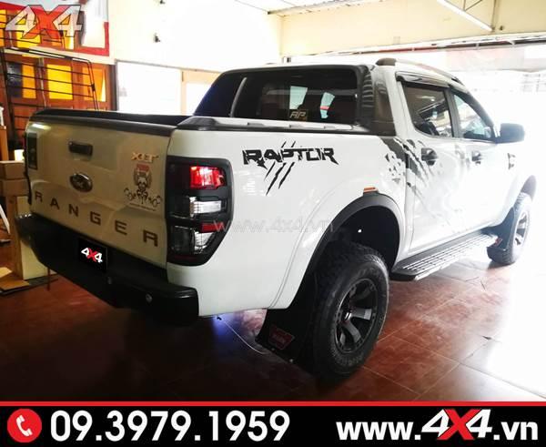 Đồ chơi xe Ford Ranger: Tem Ranger Raptor dành độ cho xe Ford Ranger XLT, XLS, Wildtrak