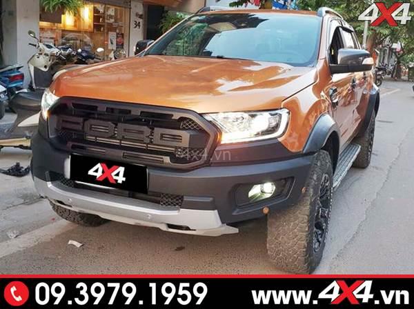 Lời khuyên gắn body kit Ford Ranger lên thành Ranger Raptor tại HCM