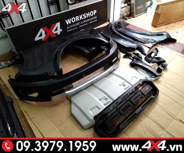 Công ty lắp body kit Ranger Raptor cho xe Ford Ranger tại Sài Gòn