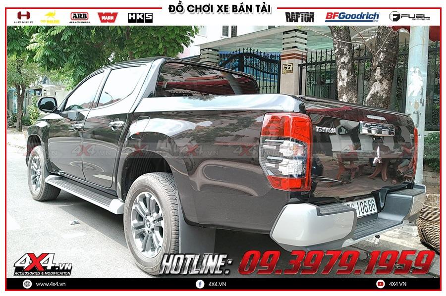 Các lợi ích khi mua sản phẩm chắn bùn Mitsubishi Triton tại cửa hàng 4x4