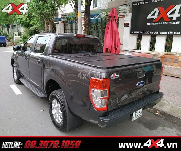 Báo giá nắp thùng 3 tấm dành cho xe Ford Ranger 2020 nhập khẩu Thái Lan