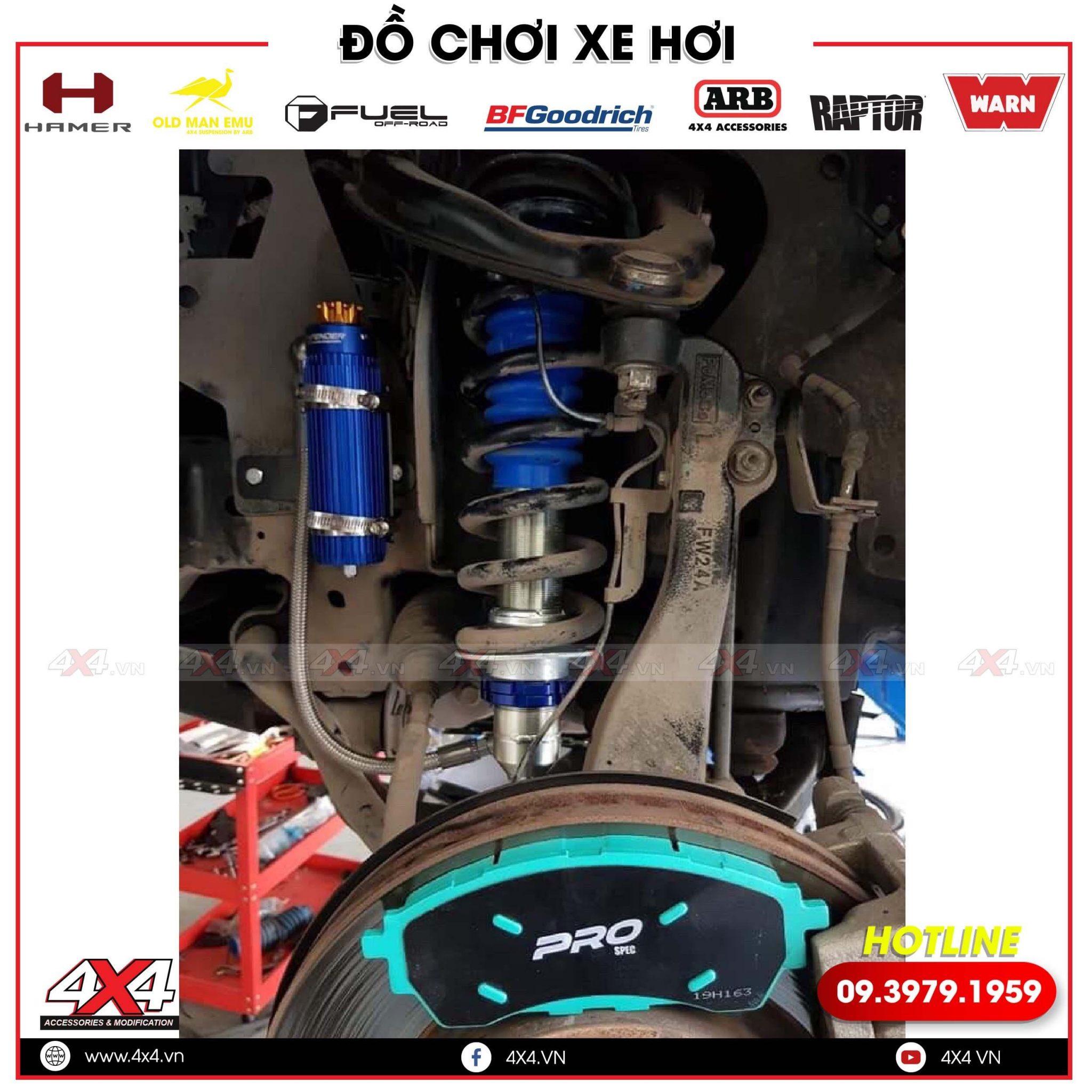 Phuộc Profender Mitsubishi Triton Giá Cực Mềm tại Cửa hàng 4x4