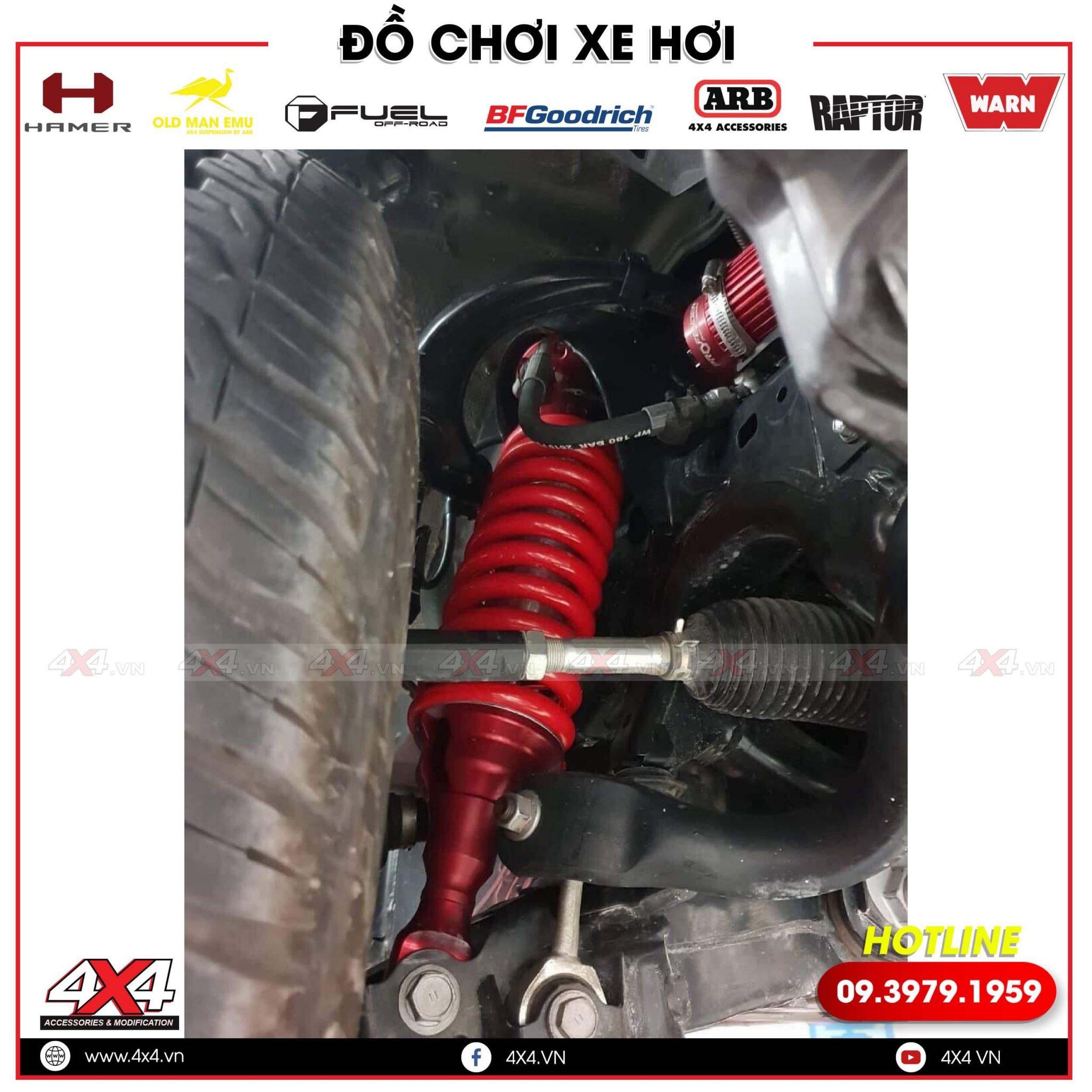 Trên Tay Phuộc Profender Dành Cho Mazda BT50 Cực Chất tại Workshop 4x4