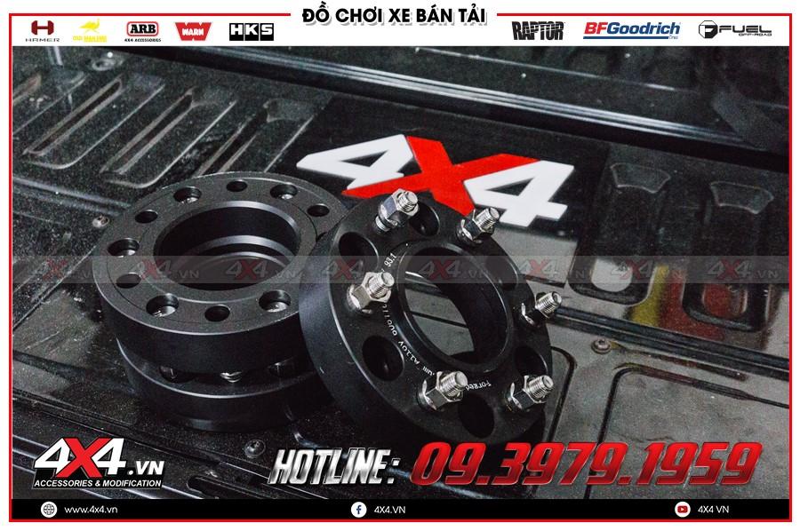 Chuyên phân phối các trang thiết bị Độ Wheel Spacer ford ranger số sàn 1 cầu cực cao cấp