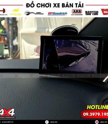 Độ camera cập lề giúp bạn đỗ xe dễ dàng và an toàn hơn