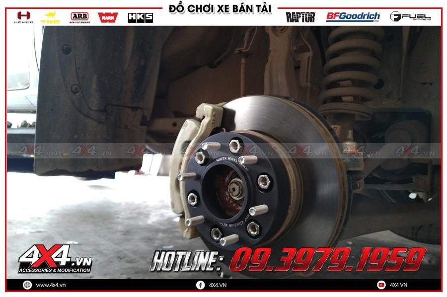 Lời khuyên mua Độ Wheel Spacers Xe bán tải tại TPHCM