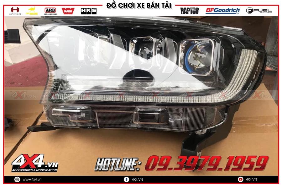 Đánh giá Độ đèn pha mẫu Bugatti Chiron đỉnh nhất dành cho Xe Ranger