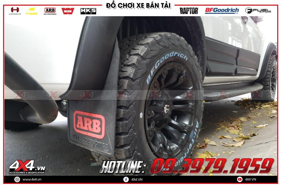 Các cách lắp đặt sản phẩm chắn bùn Chevrolet Colorado đúng chuẩn