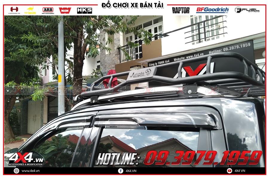 Bảng giá baga mui dành cho xe Nissan Navara 2020 hàng nhập Thailand