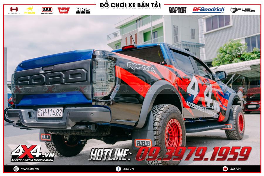 Chuyên bán ốp cốp sau dành cho xe Ranger Raptor cực đẹp giá tốt