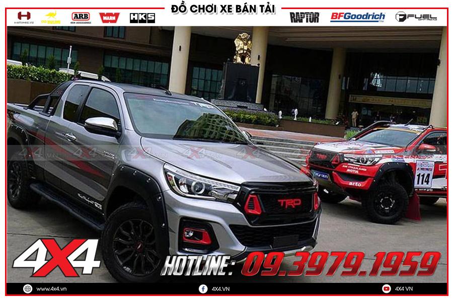 Chuyên phân phối ốp cua lốp dành cho xe bán tải nhập khẩu Thailand