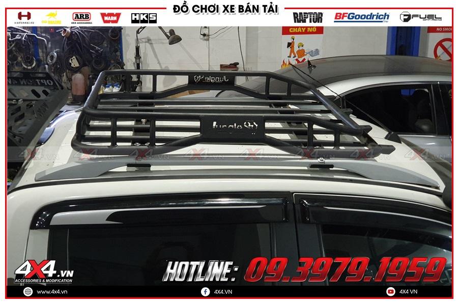 Tư vấn độ baga mui dành cho xe Mazda BT50 2020 sao cho khủng tại 4x4