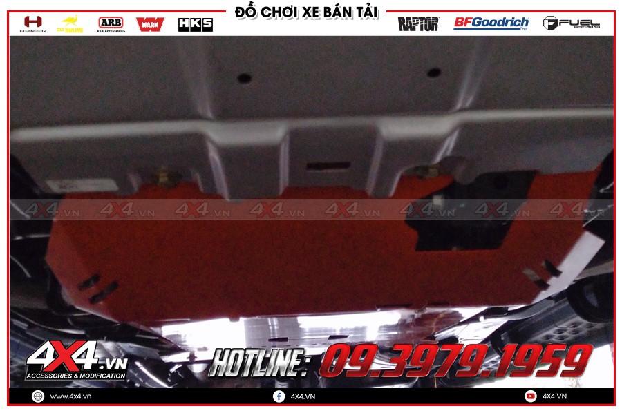 Giáp gầm xe Isuzu Dmax giá ưu đãi tại Sài Gòn Workshop 4x4