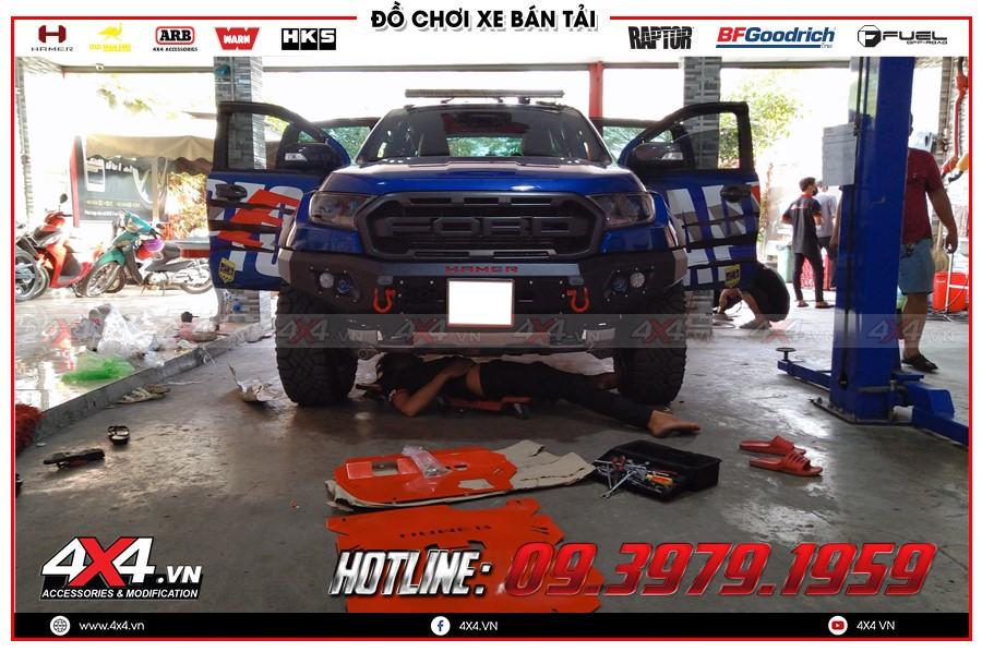 Giáp gầm Ranger Raptor giá cực rẻ tại TP Hồ Chí Minh Garage 4x4