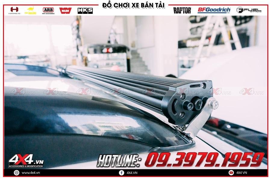 Hướng dẫn Đèn led bar trợ sáng độ chất nhất dành cho xe Nissan Navara