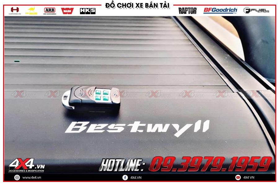 Những ưu điểm khi dùng thùng nắp remote điện cho xe Mazda BT50 mà ai cũng lưu tâm
