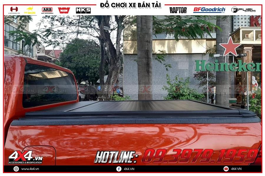 Sử dụng nắp thùng Remote điện cho xe Toyota Hilux có tốt không? Chi phí bao nhiêu?