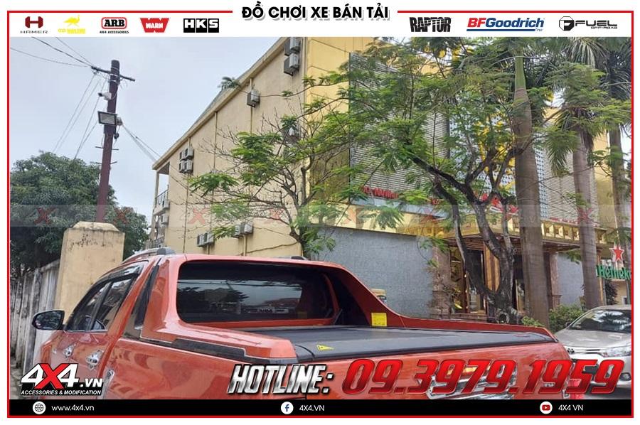 Báo giá nắp thùng Remote điện cho xe Toyota Hilux
