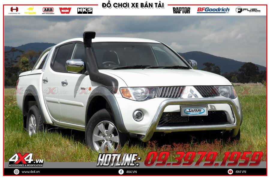 Chuyên phân phối ống thở dành cho xe Mitsubishi Triton 2020 hàng nhập chính hãng Thái Lan