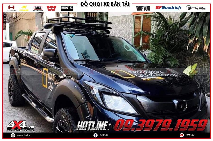 Chuyên cung cấp ống thở dành cho xe Mazda BT50 2020 nhập khẩu Thái Lan