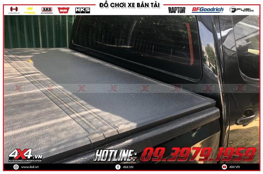 Chuyên cung cấp nắp thùng 3 tấm dành cho xe Chevrolet Colorado 2020 nhập khẩu chính hãng Thái Lan