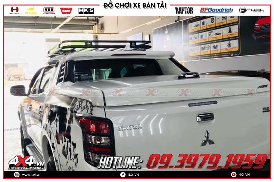 Tư vấn thay cản sau của hãng Hamer lên cho xe Mitsubishi Triton cực đỉnh