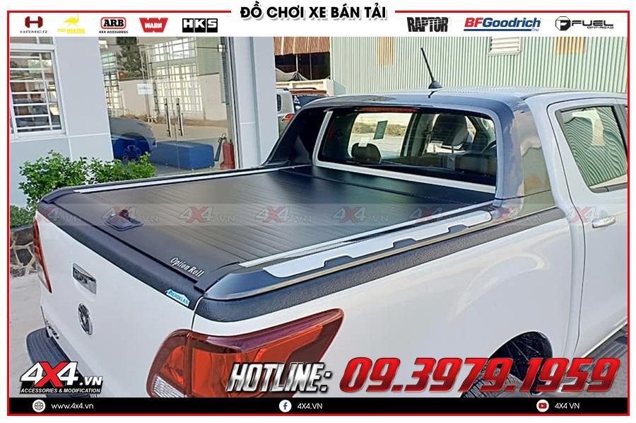 Giá nắp thùng cuộn dành cho xe Mazda BT50 2020 hàng nhập Thailand