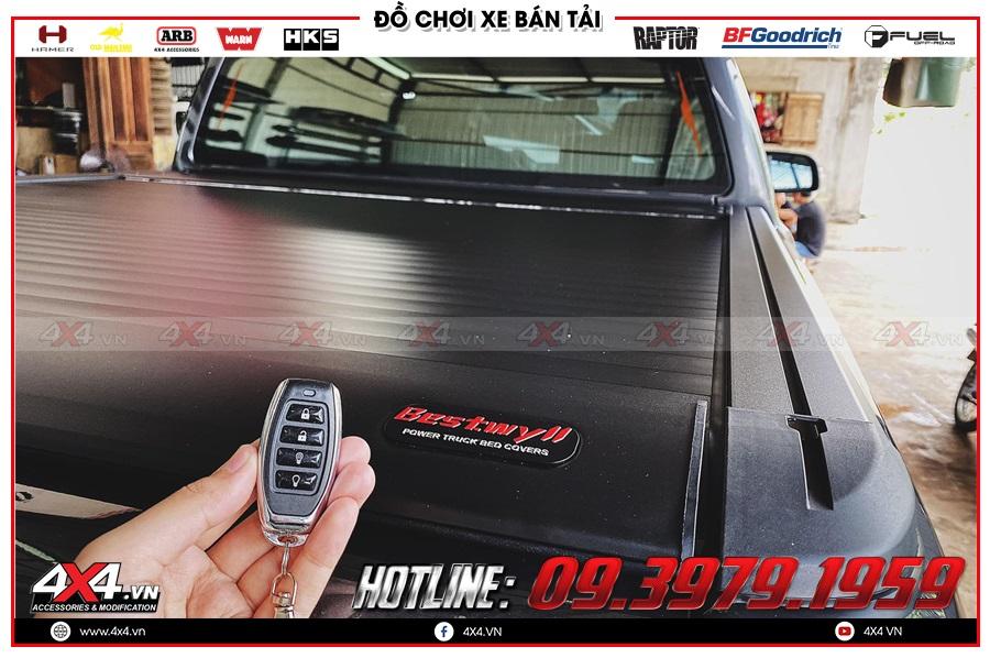 Những điểm tốt khi dùng thùng nắp remote điện cho xe Chevrolet Colorado mà ai cũng cần biết