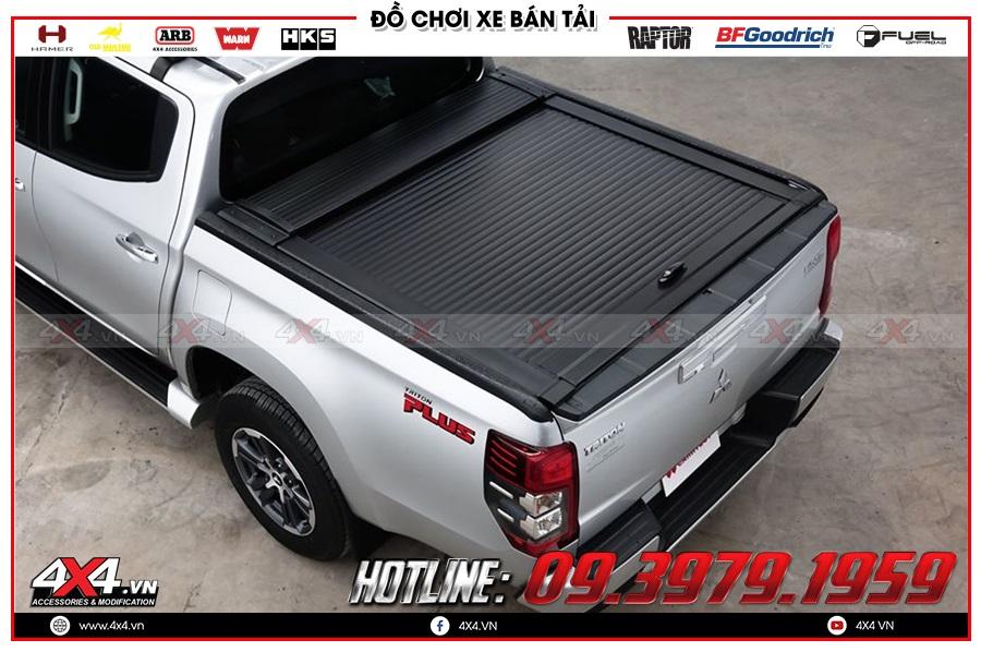 Báo giá nắp thùng cuộn dành cho xe Mitsubishi Triton 2020 nhập khẩu Thái Lan