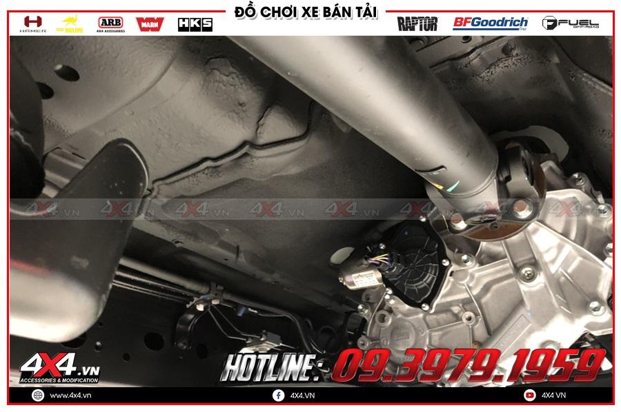 Khám phá phủ gầm Mazda BT50 mới nhất