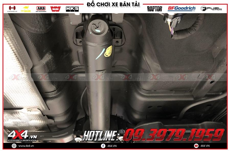 Lắp đặt phủ gầm xe Nissan Navara chất lượng nhất